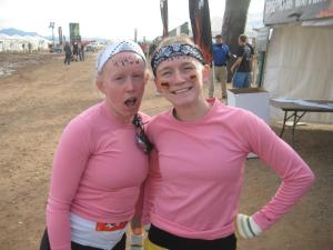 Maggie and me at Tough Mudder last year.