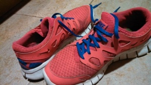 Oh Nike Free. What girl doesn't have you.