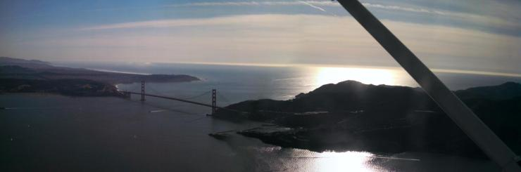 Why is the bridge so iconic and touristy? I've never quite actually been able to figure this out. We have other bridges in the Bay Area  too you know.
