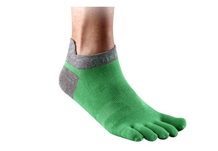 Injinji socks. Yeah, they look stupid, but inside your socks no one can see.