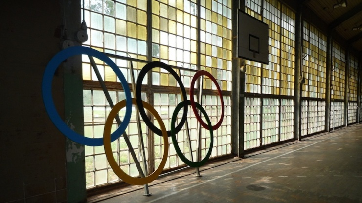 The less proud Olympic rings.