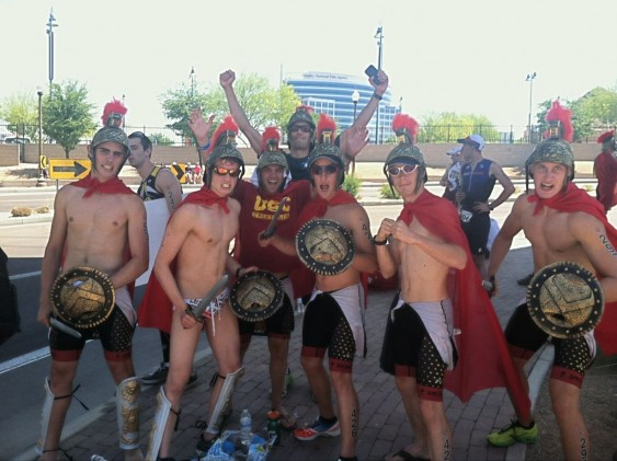 The USC tri team at nationals two years ago. (Triathlete Magazine)